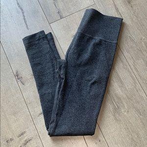 Pants - NWOT   Dark Gray Heather Legging   High Waisted